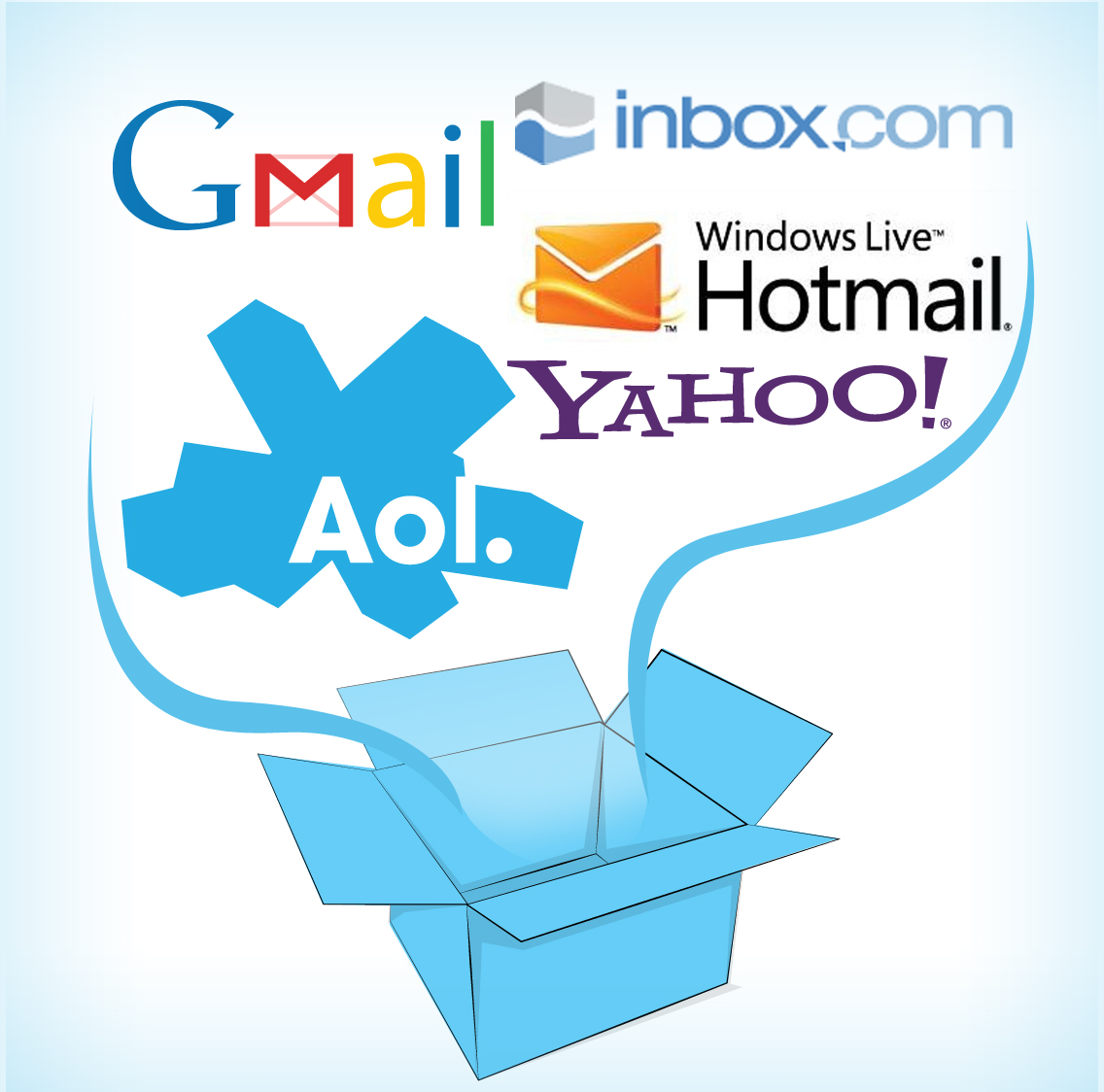 how to make your own email service